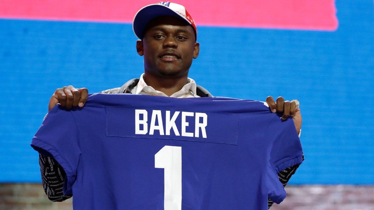 Deandre Baker, CB, New York Giants