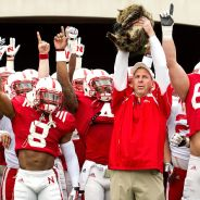 Bo Pelini and his cat