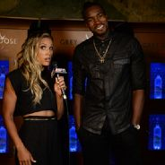 Lolo Jones and Serge Ibaka at Body at ESPYS.