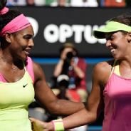 Pic of the Day: Serena Williams and Madison Keys on Day 11
