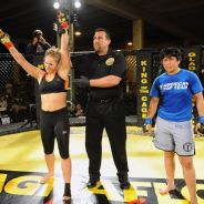 Round 1: Rousey vs. Gomes, March 27, 2011
