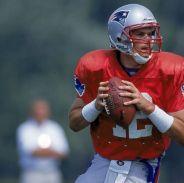 Tom Brady acudió a su primer campamento de entrenamiento en el año 2000, tras ser reclutado por los New England Patriots en la sexta ronda del draft (N° 199 global).