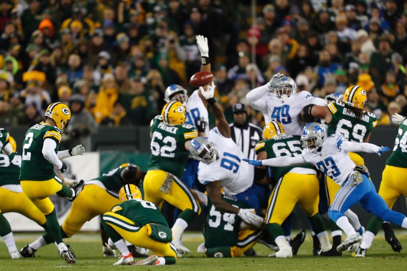 Mason Crosby, K, Green Bay Packers
