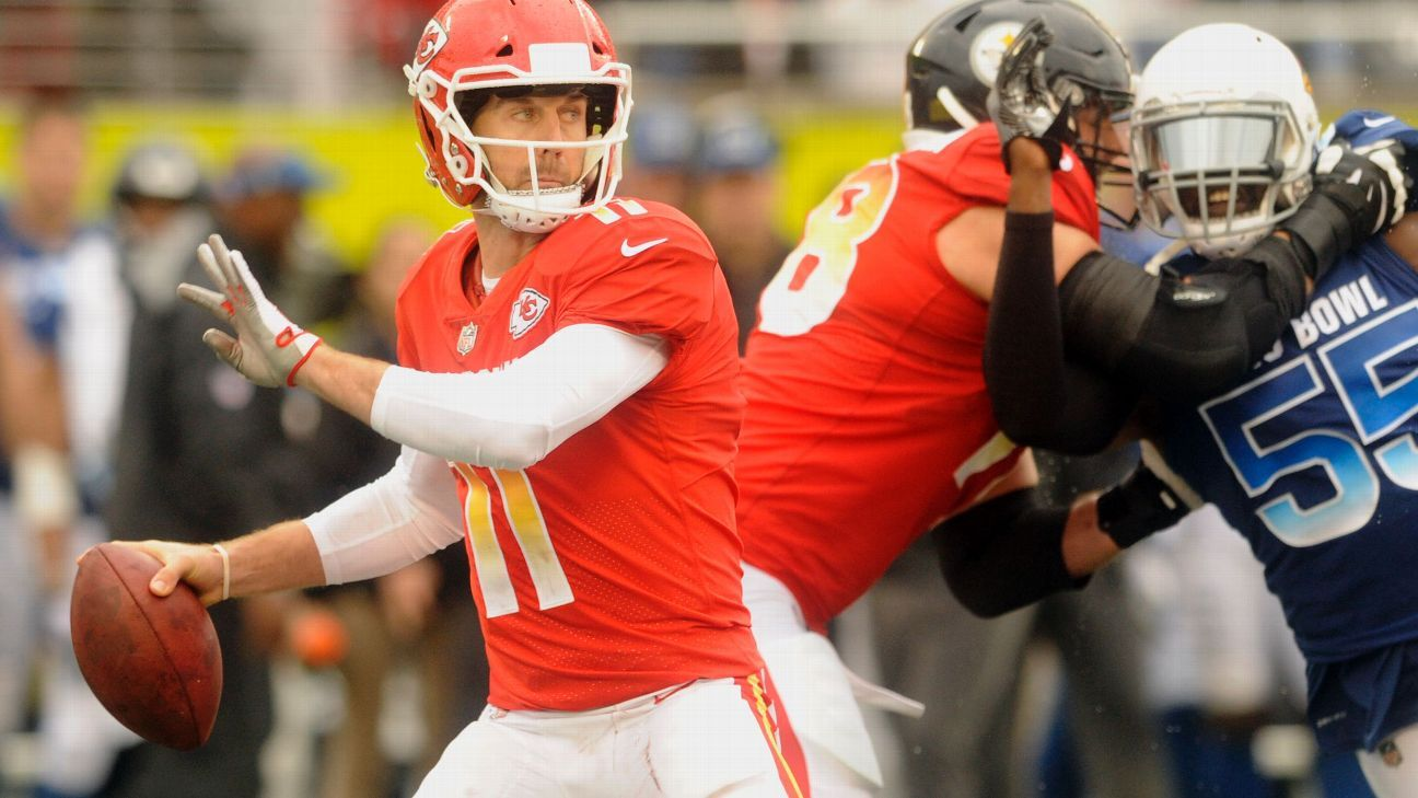Alex Smith, QB, AFC (Kansas City Chiefs)