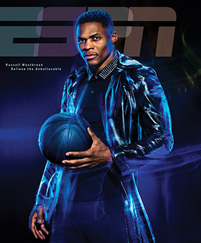 The driving force of Oklahoma City Thunder's Russell Westbrook