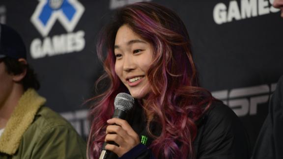 Chloe Kim Hair