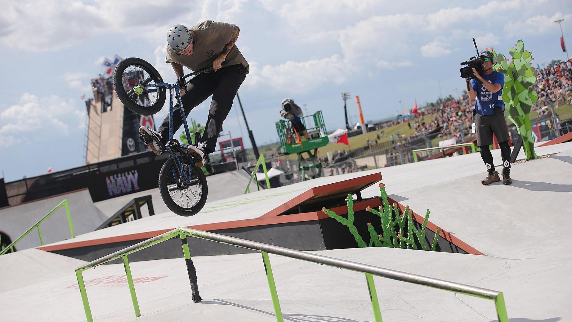 Broc Raiford wins X Games BMX Street bronze X Games Bmx Wallpaper
