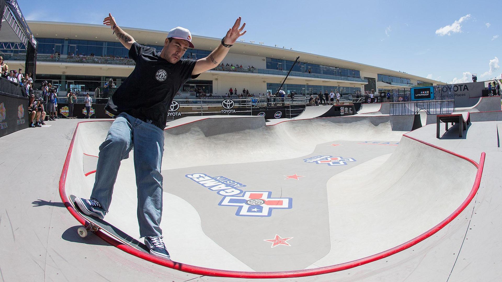Pedro Barros Wins X Games Skateboard Park Gold