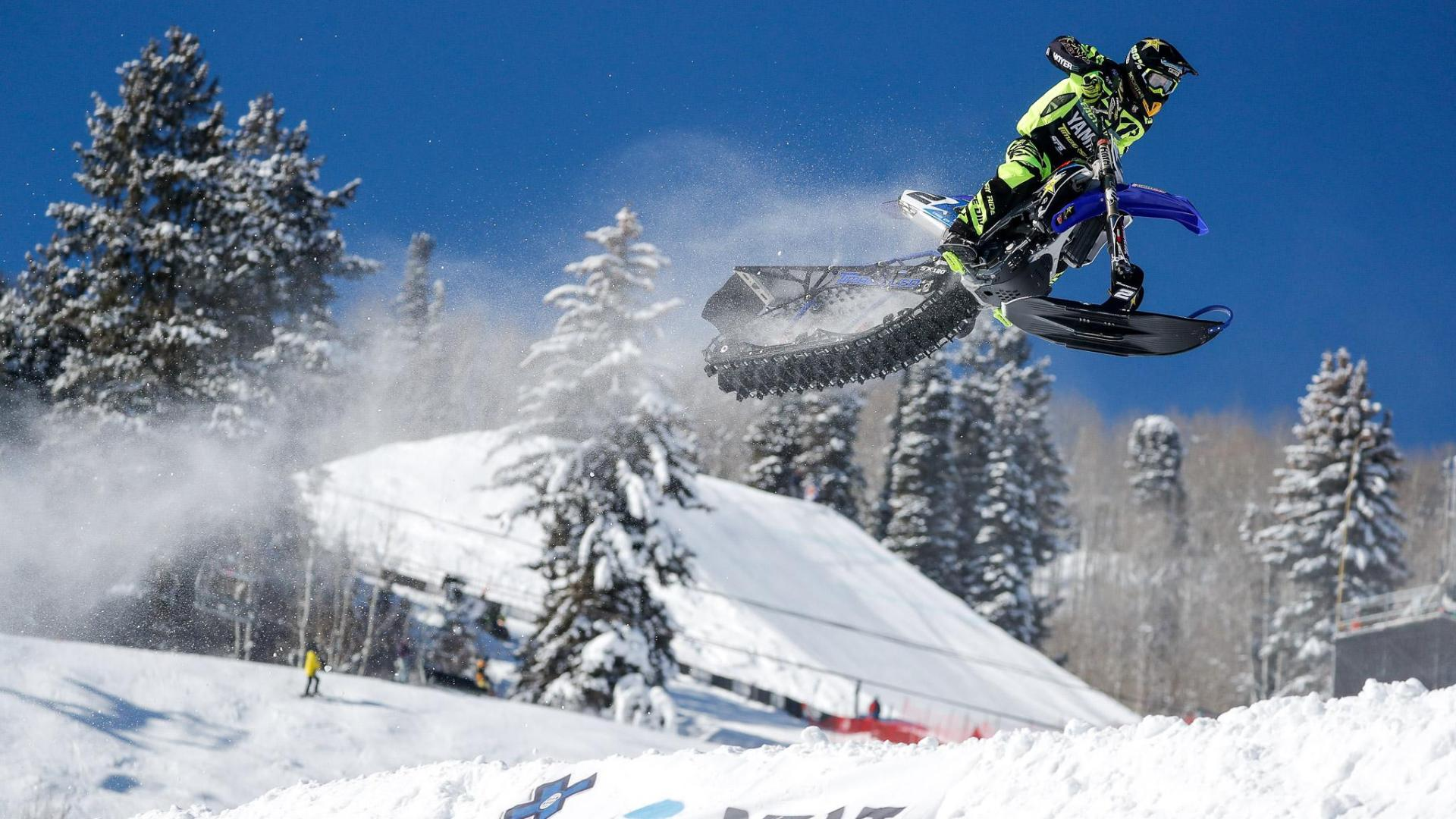 Brock Hoyer Wins Inaugural X Games Snow Bikecross