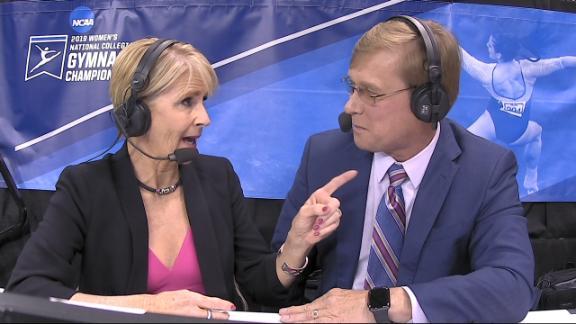 2019 NCAA gymnastics championships -- Oklahoma Sooners vault to title