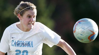 Heather O'Reilly is playing for the U.S., but remains focused on UNC.