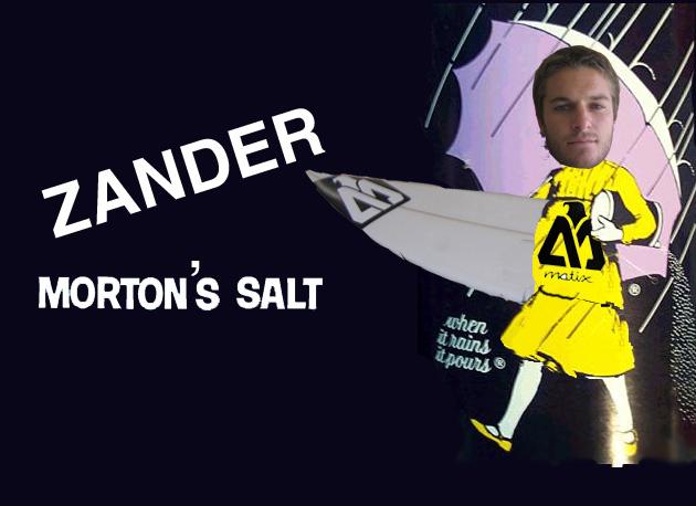 Pro surfer/scribe Zander Morton  bringing you all the salt from Oz.