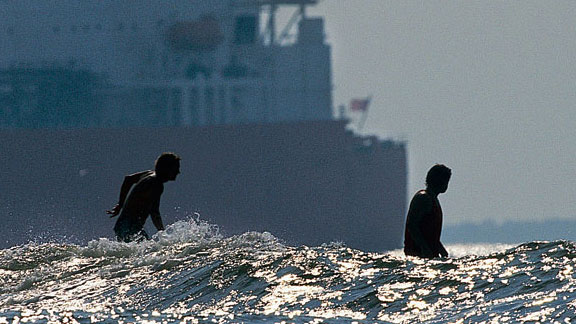 They may be starved for swell in Texas, but that don't mean there ain't no waves.