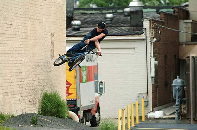 Ryan Corrigan, X Games ramp builder/wallride to x-upper.