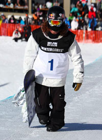 Shaun White took his second win of the season at the LG Snowboard World Cup opener at Cardrona Resort, New Zealand.