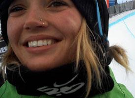 First-time Winter X gold medalist, Kaitlyn Farrington.