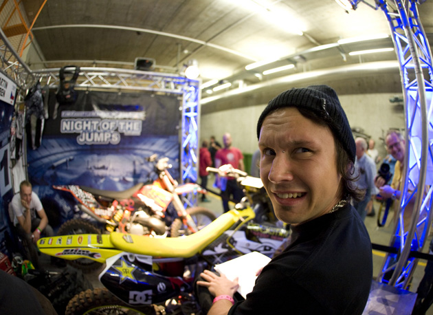Czech Republic's Libor Podmol is becoming the man to beat at the IFMXF FIM World Championship events.