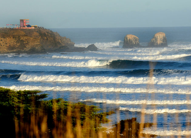 Punta de Lobos: Big, daunting, and perfect.
