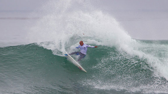 Old school, new school, on rail or in the air, Kelly Slater's dominance at Lowers can't be overstated.