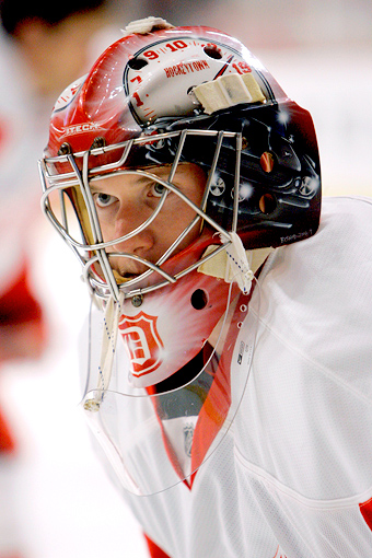 Jimmy Howard, Red Wings