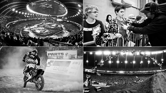 The 33rd annual Montral Supercross went down Saturday night in the city's Olympic stadium. a class=launchGallery href=http://espn.go.com/action/photos/gallery/_/id/5648730/supermotocross-de-montraliLaunch gallery »/i/a