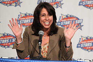 Donna Orender spent five years at the helm of the WNBA before resigning late last year.