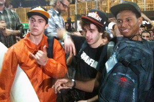 The top three at this weekend's Tampa Am: Elijah Berle, Ishod Wair and Jon Cosentino.