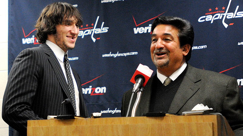 Ovechkin Ted Leonsis