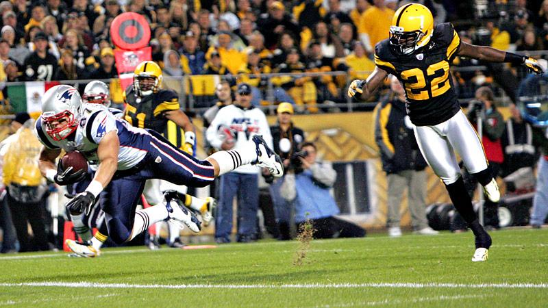 Rob Gronkowski vs Steelers