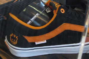 Tony Trujillo's TnT Five from Vans gets the Spitfire collab treatment for this colorway.