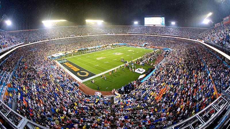 Super Bowl XLI, Dolphins Stadium