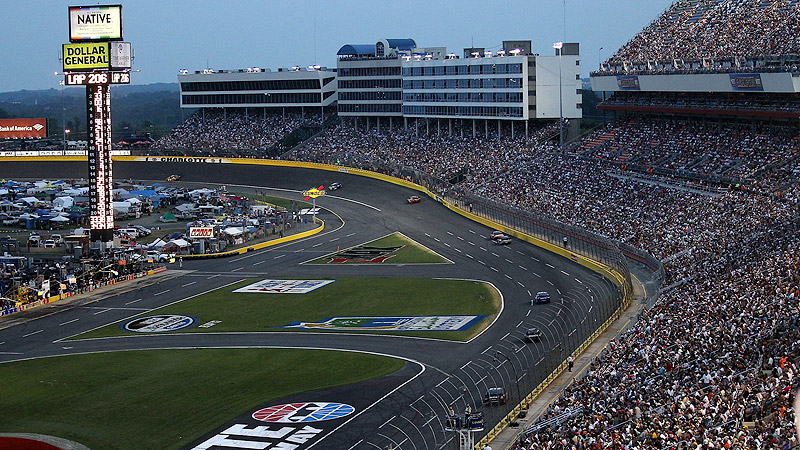 Charlotte motor speedway nascar track guide gallery espn for Charlotte motor speed way