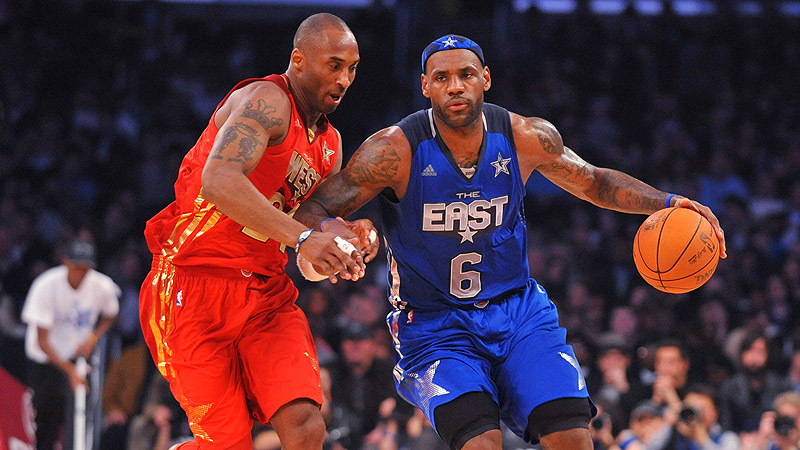 LeBron James & Kobe Bryant