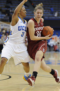 Coach Tara VanDerveer says her point guard is a bit of a nut and thus a great fit for the band.