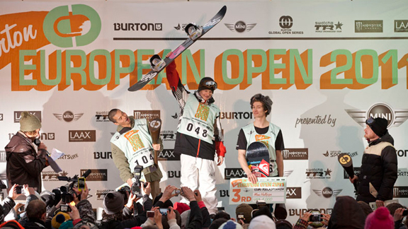 Wins like Piiroinen's first place finish in pipe and second in slope at the Burton European Open are what make him truly a World Champion.
