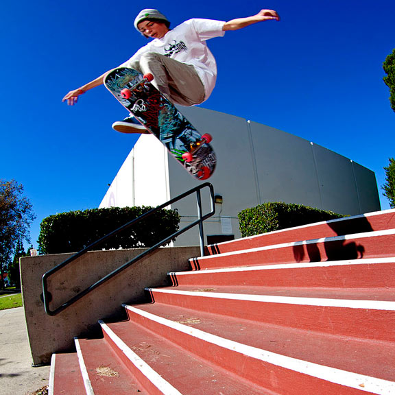 For a young guy, Tyson has a deep bag of tricks. This impossible is a solid choice.
