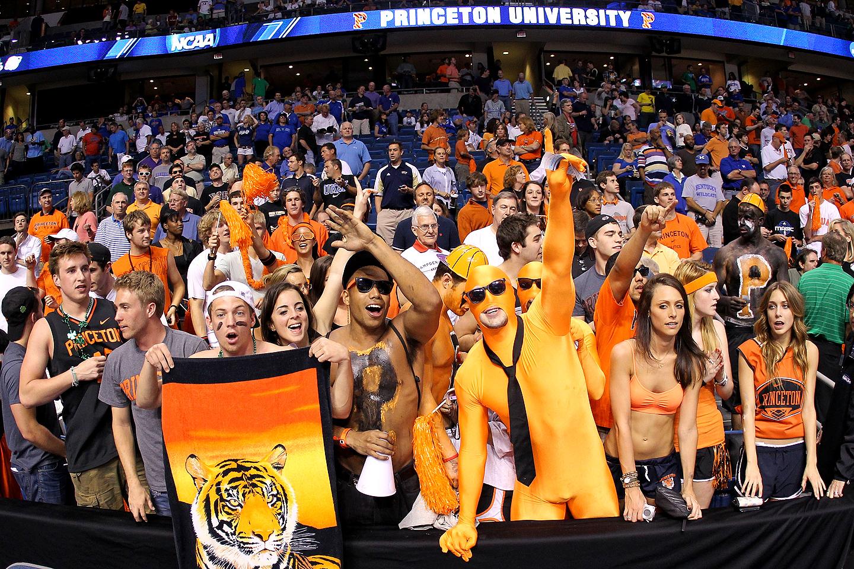 Princeton Tigers fans