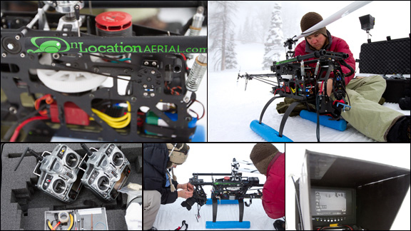 Put a DSLR camera inside a small, remote-control heli, then wait for the magic to happen.
