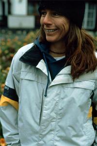 Burnside is a well-known face in women's skateboarding.