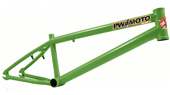 Phil Wasson's signature PW Moto frame, hand built by Big Dave in the mid '00s.