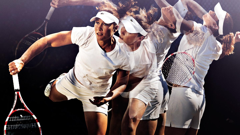 Best mechanics in sports: Kick serve by Sam Stosurs, WTA tennis player