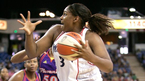 Courney Paris followed her college career as the No. 7 pick in the 2009 WNBA draft, going to the Sacramento Monarchs. From there, the plan went off the rails.