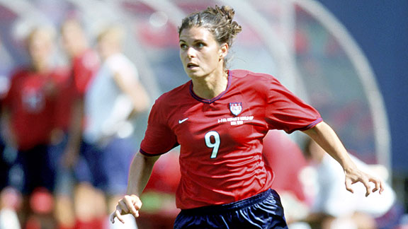 mia hamm essays In a short essay for time magazine, mia hamm, the brightest star in the history of  women's soccer, pays tribute to abby wambach, the greatest.