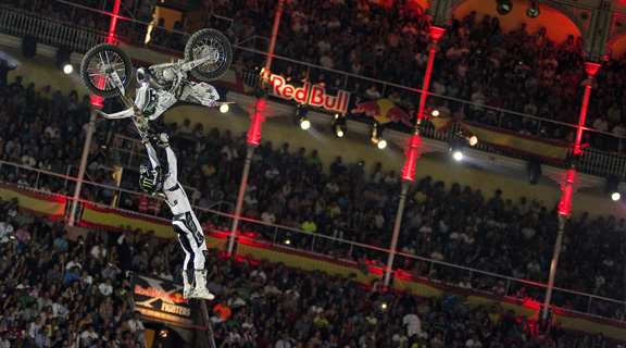Madrid marked Andre Villa's first X-Fighters finish outside the podium. Though not far out, his fifth place finish came as a surprise to him after Bilko knocked him out in the semifinals.