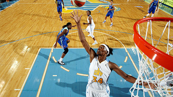 Chicago Sky center Sylvia Fowles is averaging 20.3 points, 11.5 rebounds per game this season.