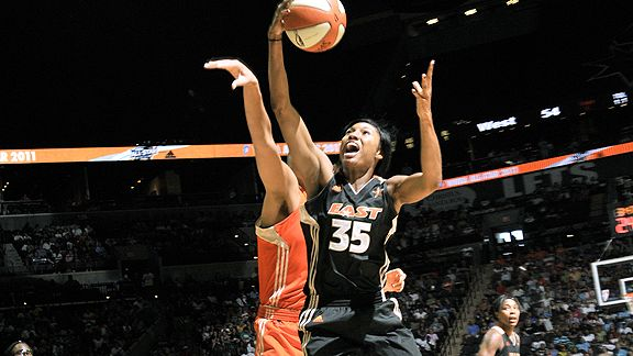 The MVP candidate, who is averaging 20 points per game, has carried last year's WNBA runners-up back into the playoff picture after a 2-7 start.