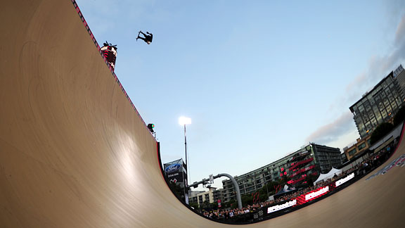 Burnquist is now tied for the second-highest medal total in X Games history.
