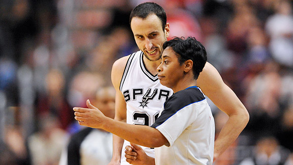 Violet Palmer helped break the gender barrier in 1997 but since 2002 has been the only female referee in the NBA.
