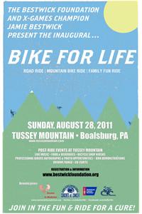 Bike For Life flyer.