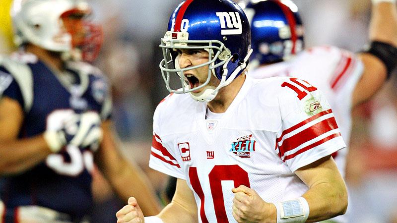 15. Eli Manning, QB